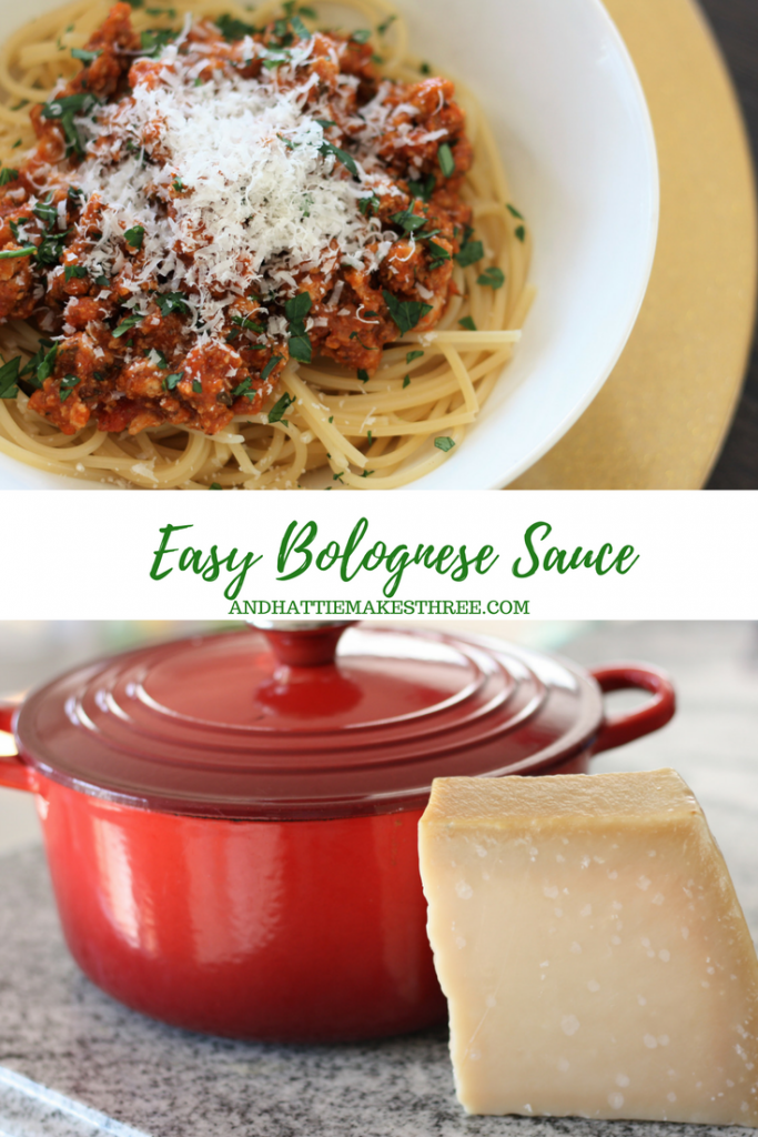 Easy Bologense Sauce