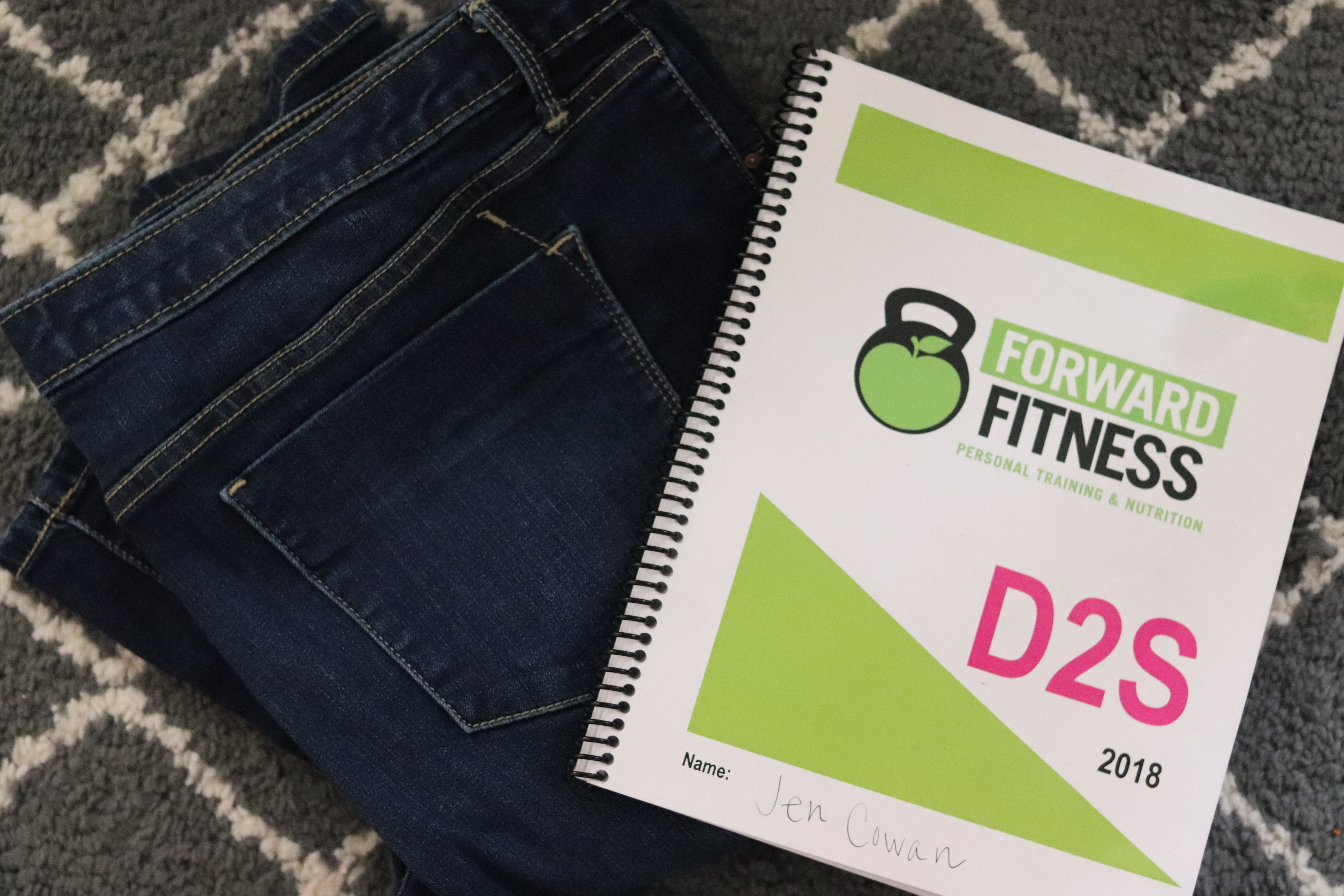 Forward Fitness Drop 2 Pants Sizes Challenge 1