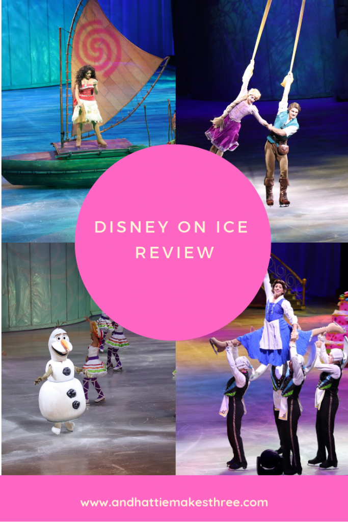 Disney on Ice Review Pinterest And Hattie Makes Three StL