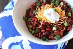 Fire Roasted Chili And Hattie Makes Three