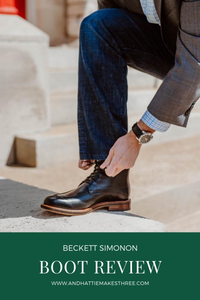 Beckett Simonon Boot Review