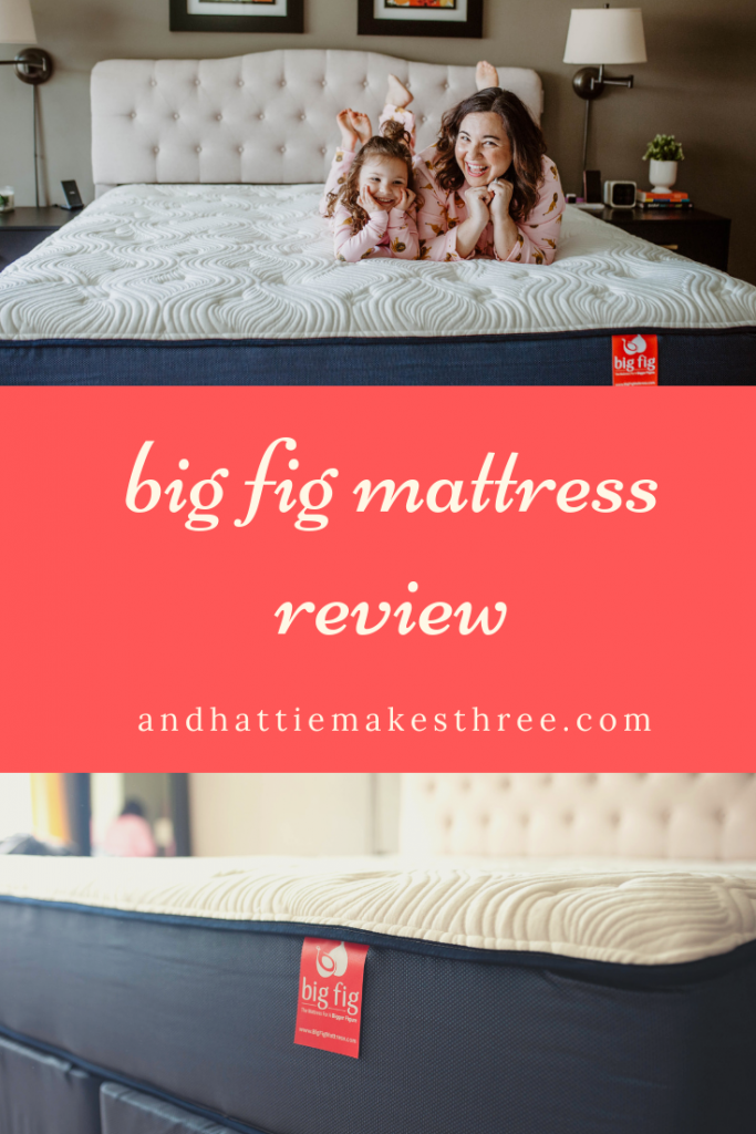 review big fig mattress