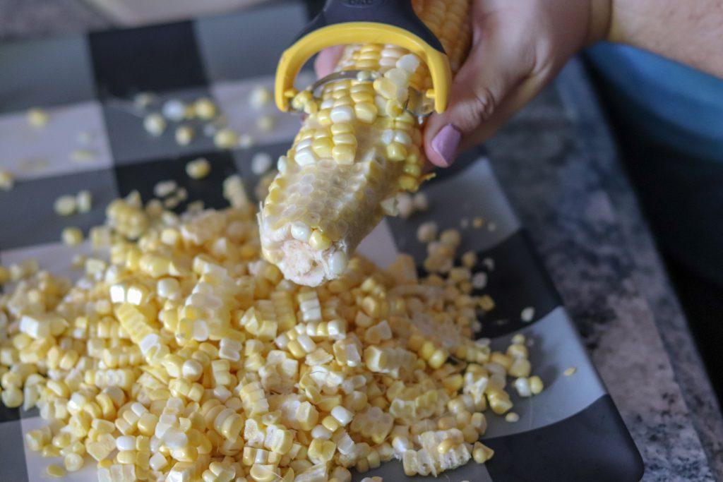 OXO Corn Peeler Review 1