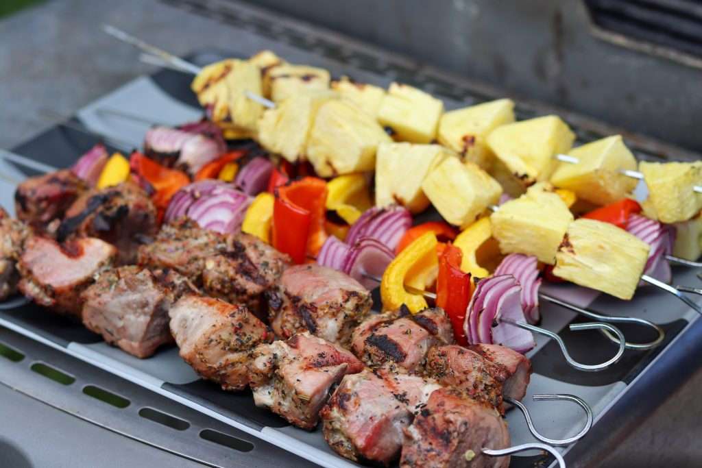 Pork Tenderloin Kebabs