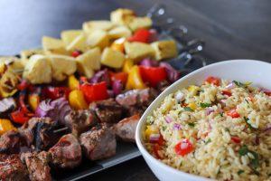 Hatfield Pork Tenderloin Kebab Recipe