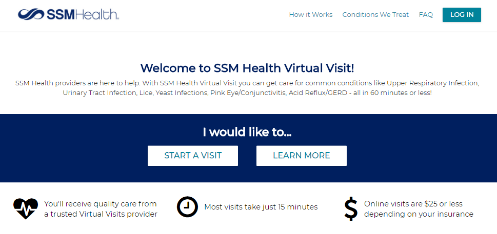 sktop Virtual Visit Welcome