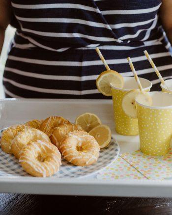 Baked Lemon Donuts 1