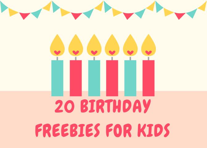 20Birthday Freebies for Kids