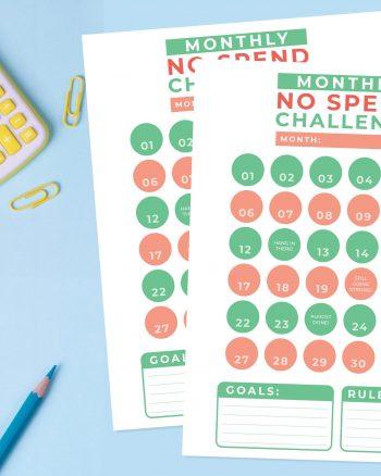 No Spend Challenge #1_Blog