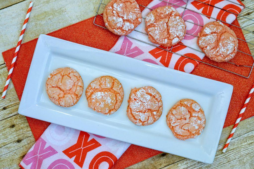 Cake Mix Crinkle Cookies