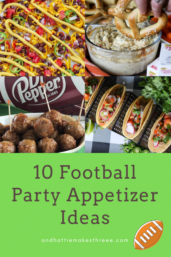 10 Easy Football Party Appetizer Ideas