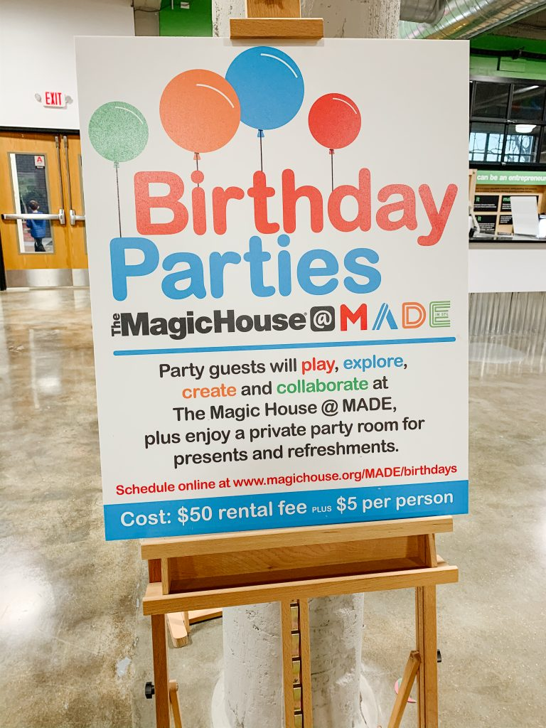 Birthday Parties Made for Kids