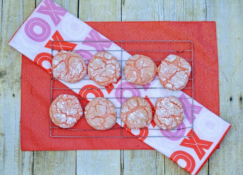 Cake Mix Crinkle Cookies 3