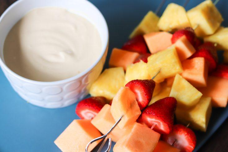 3 Ingredient Fruit Dip