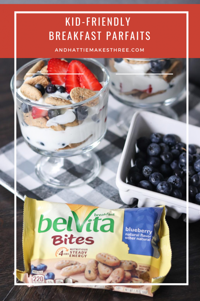 Kid Friendly Yogurt Parfaits