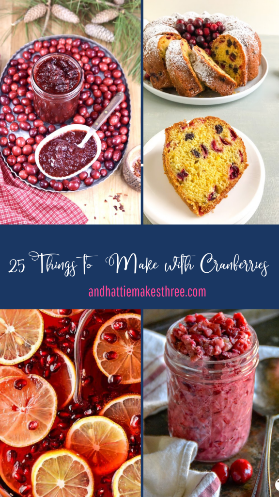 Cranberry Recipes for Thanksgiving