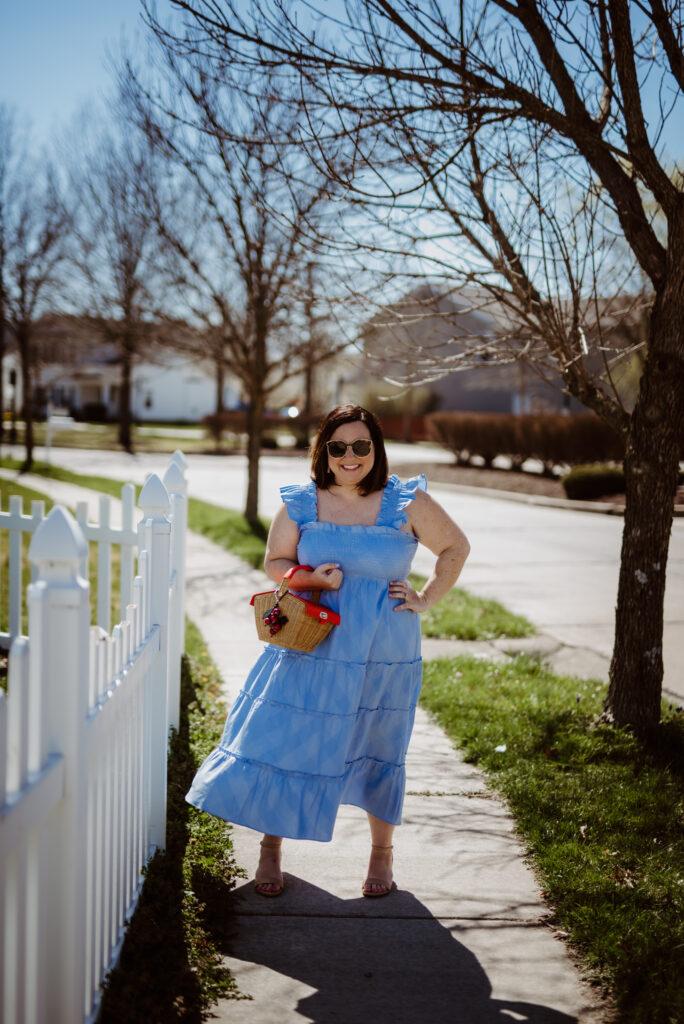 Hill House Blue Nap Dress 1